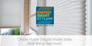 Hunter Douglas Promotions