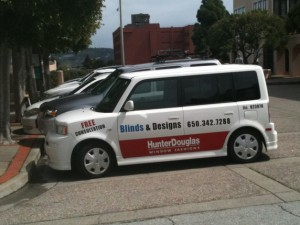 Blinds and Designs Van