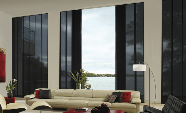 Hunter Douglas Skyline Gliding Window Panels Bay Area