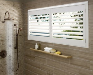 Window Coverings for Bathrooms - Burlingame CA