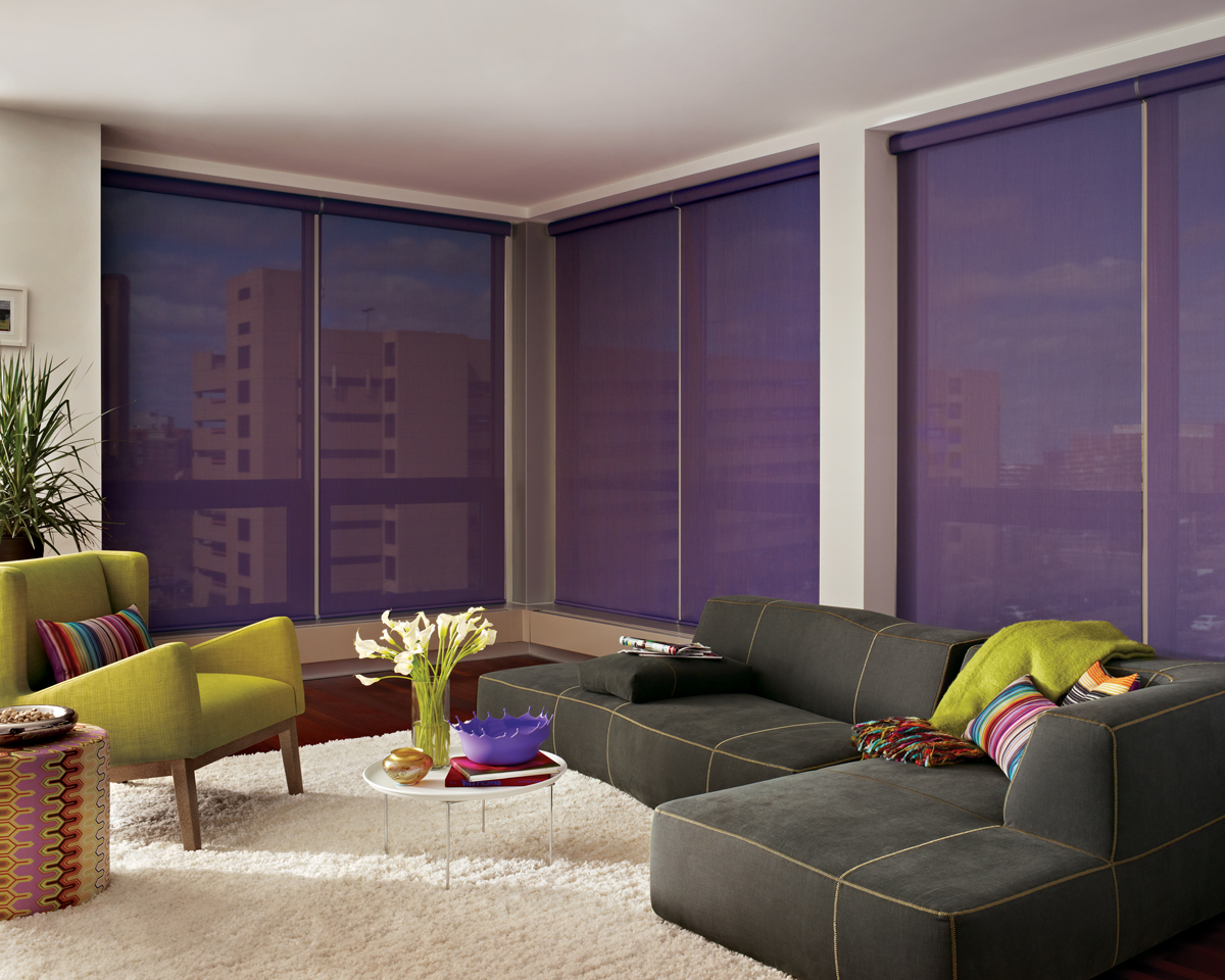 Screen shades uv protection san francisco marin county for Designer windows