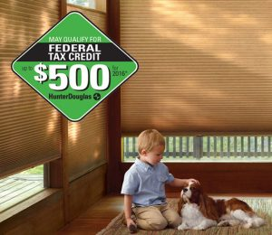 Hunter Douglas Federal Tax Credit on Shades