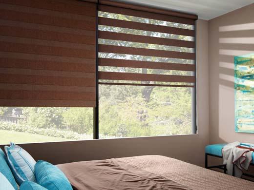 Designer window fashions finest norman window fashions for Hunter douglas motorized blinds cost