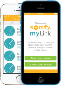 Automated Window Coverings with Somfy My Link