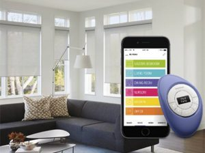 Hunter Douglas PowerView Motorization App & Pebble Remote